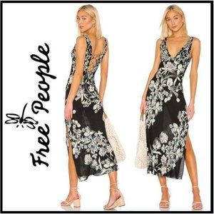 NWT Free People Never Too Late Maxi Dress S
